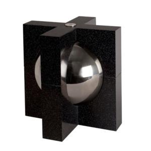Funeral urn for ashes - Black Crystal