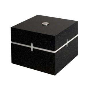 Cremation urn for ashes - Black Gloria 1